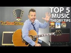 New Music Resource: Experimental Music and Video: Top 5 Music Theory Tips For Guitar Players