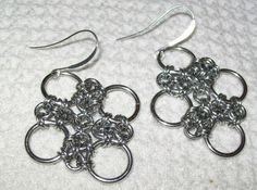 Chinese Chainmaille Earrings