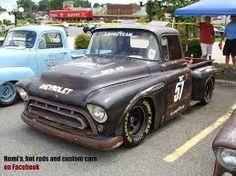Resultado de imagen para 1956  rat race chevy truck