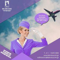 Σπούδασε τα Αεροπορικά Επαγγέλματα στο IEK New York! Η πτήση για την επαγγελματική σου εξασφάλιση αναχωρεί άμεσα! Ενημερώσου στο www.ieknewyork.gr/aeroporikesspoudes ή επικοινώνησε μαζί μας στο 211 1039 800! #iny #ieknewyork #studies #registration