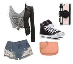 """""""Love"""" by dj2000noname ❤ liked on Polyvore featuring Converse, MICHAEL Michael Kors and Kate Spade"""