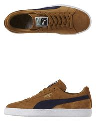 PUMA - SUEDE CLASSIC TRAINERS - BISTRE PEACOAT. Get marvelous discounts up to 50% Off at SurfStitch using coupon and Promo Codes.