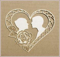 Tango z różą scrapek