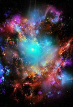 Nebulae. This is how a star is born, quite literally.