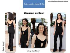Look estiloso com macacão. Mais detalhes, confira no blog Universo da Moda & Cia.