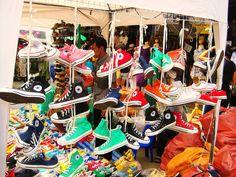 Chatuchak Market, Bangkok #Converse