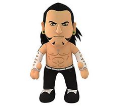 A Superstar for Play or Display Bleacher Creatures WWE Finn Balor 10 Plush Figure