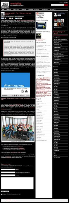 """Tweetcamp Köln – Tag 2 & unsere Hashtags-Session"" - @OReilly_Verlag #tck13 #Hashtagology"