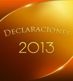 Declaración Profética sobre mi Familia para el 2013