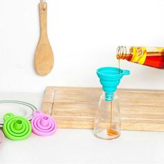 FairytaleMM Silicone Baking Oil Brush Kitchen Tools Household Bread Pancake Brush-Blue