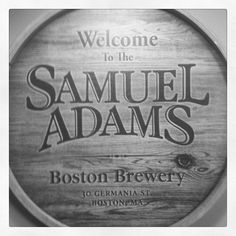Samuel Adams Boston Brewery Boston Brewery, Samuel Adams, Beverages, Drinks, Blue Line, Cape Cod, Massachusetts, Vacations, Road Trip