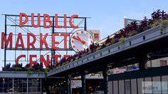Pike Place Public Market Centre - Check more at https://www.miles-around.de/nordamerika/usa/washington/seattle-downtown-geocaching-hq-museum-of-flight/,  #avgeek #Aviation #Boeing #Geocaching #GeocachingHQ #HQ #Museum #MuseumofFlight #PikePlace #Planespotting #Reisebericht #Seattle #USA #Washington