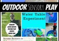 Outdoor Sensory Play Activities