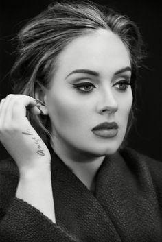 Photo By Erik Madigan Heck Adele Eyeliner Eyeliner Flick