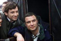 Hugh Jackman & Liev Schreiber in Kate & Leopold (reasons why I love that movie :P)