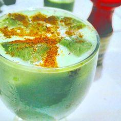 Green Tea Latte Cinnamon