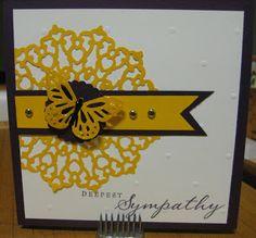 Sympathy Card-Art Philosophy Cricut Cartridge