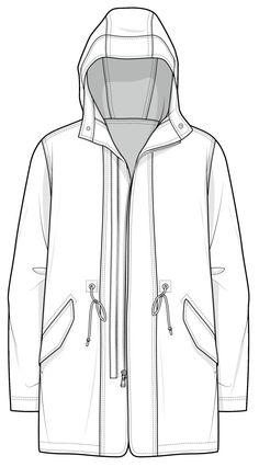 CAD Illustration jacket... Ylime xxx