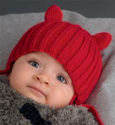patron tricot tuque avec cache oreilles