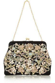 Dolce  Gabbana Marilu embellished lace clutch   NET-A-PORTERhttp://atentamente-carmen.blogspot.com.es/