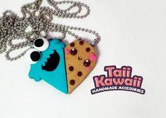 Taii Kawaii: Juego de collares cookie monster - Kichink