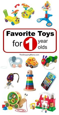 Favorite Toys for 1 Year Olds {Shopping Guide} | The Shopping Mama