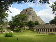 Uzmal - one of the most famous Mayan ruins, appx. one hour drive from Merida, Mexico.