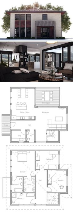 Plan de Maison House layout Pinterest Plans de maison, Maison