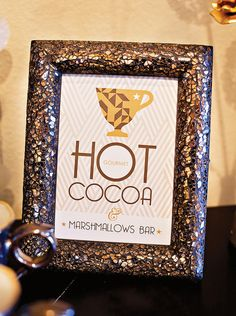 Hot Cocoa + Marshmallow Bar FREE Printables!
