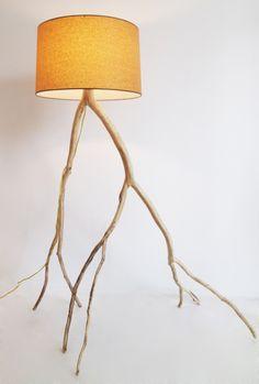 Handmade lamps by Meghan Finkel.