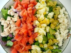Classic Cob Salad #salads