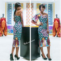 Wear you mood and let the style do the talking. MELANIE CRANE  #vliscowomenempowerment#vlisco#vliscoat170gh#melaniecrane