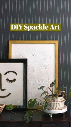 Rustic Wall Art, Diy Wall Art, Diy Wall Decor, Modern Wall Art, Decor Crafts, Room Decor, Creative Wall Decor, Creative Crafts, Diy Artwork