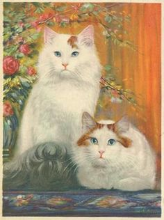 Rebop's PawPrints, Vintage Postcards of Cats and Dogs, Popourri