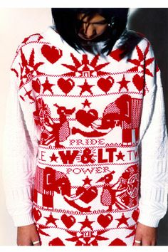 Twinkle Twinkle Little Star Collection, Walter Van Beirendonck, Twinkle Twinkle Little Star, Contemporary Fashion, Christmas Sweaters, Knitwear, Latest Trends, Collection, Tricot, Stricken