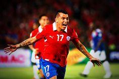 Cara de gol, grito de Mundial... VIVA CHILE!!!
