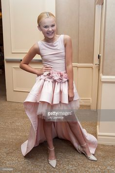 JoJo Siwa attends the 8th Annual Women of Excellence Luncheon at The Beverly Hilton Hotel on June 4, 2016 in Beverly Hills, California.