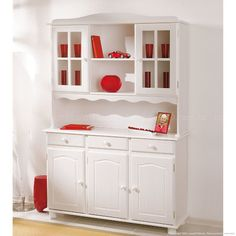 Cozinha Compacta/CristaleiraSiena Branco Lavado - Interlink