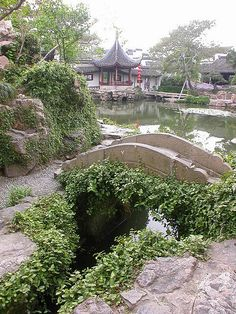 garden in Suzhou, China