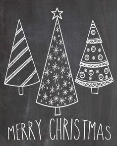 22 Best Christmas Chalkboard Art Inspiration - decoratoo - New Ideas Chalkboard Decor, Chalkboard Lettering, Chalkboard Designs, Kitchen Chalkboard, Chalkboard Texture, Chalkboard Walls, Chalkboard Background, Merry Christmas Google, Chalkboard Merry Christmas