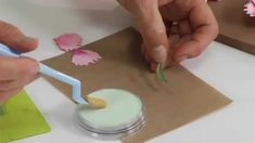 How to Use Sizzix Thinlits Carnation Flower Die by Susan's Garden.