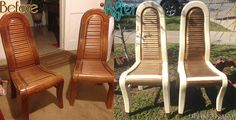 Modern Chairs Diy Makeover Before and After