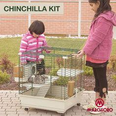 #CHINCHILLA KIT  Gabbia per chinchilla  #lineapet #welovepet