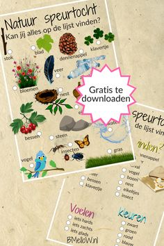 Nature treasure hunt, go out and discover nature. Outdoor Activities For Kids, Outdoor Learning, Games For Kids, Diy For Kids, Crafts For Kids, Granny Joy, Recycled Crafts, Diy And Crafts, Excel Formulas