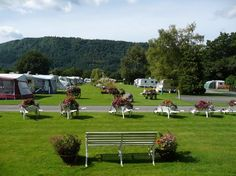 www.aroundaboutbritain.co.uk. Bodnant Caravan Park. Llanrwst. Conwy Valley. Conwy. Wales. UK. Campsite. Camping. Holiday. Outdoors. Touring Park. Pet Friendly.