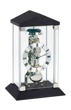Hermle Barkingside Mantel Clock with Mechanical Skeleton Movement