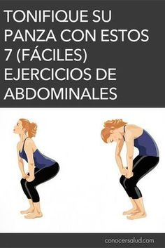 Tonifique su panza con estos 7 (fáciles) ejercicios de abdominales #salud