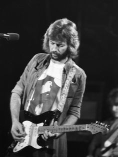 Eric Clapton's and his infamous Fender Stratocaster guitar, Blackie.