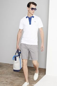 Stay elegant and comfy in #Lacoste this #summer #menswear