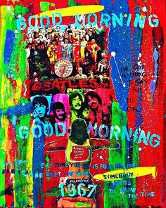 Beatles music ilustrated by Walter Vermeulen - Good Morniing